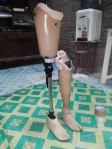 kaki palsu Demak