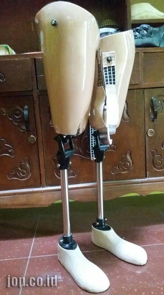 bahan pembuat kaki palsu terbaik